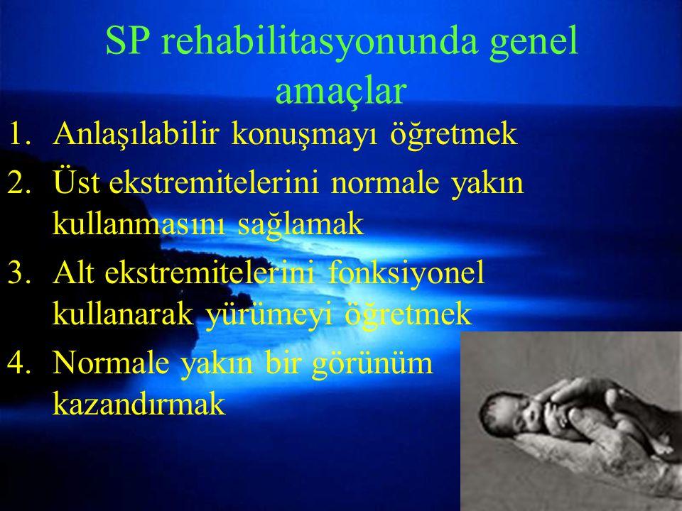 SP rehabilitasyonunda genel amaçlar