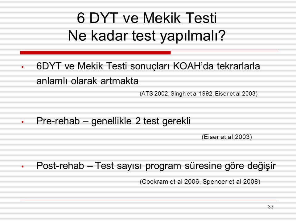 6 DYT ve Mekik Testi Ne kadar test yapılmalı