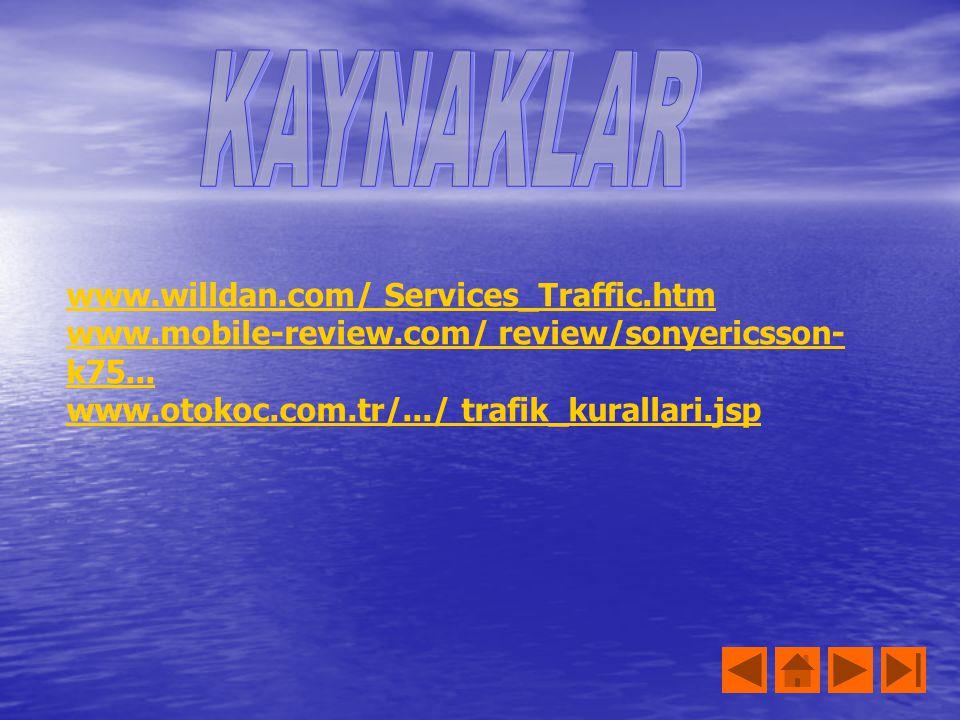 KAYNAKLAR www.willdan.com/ Services_Traffic.htm