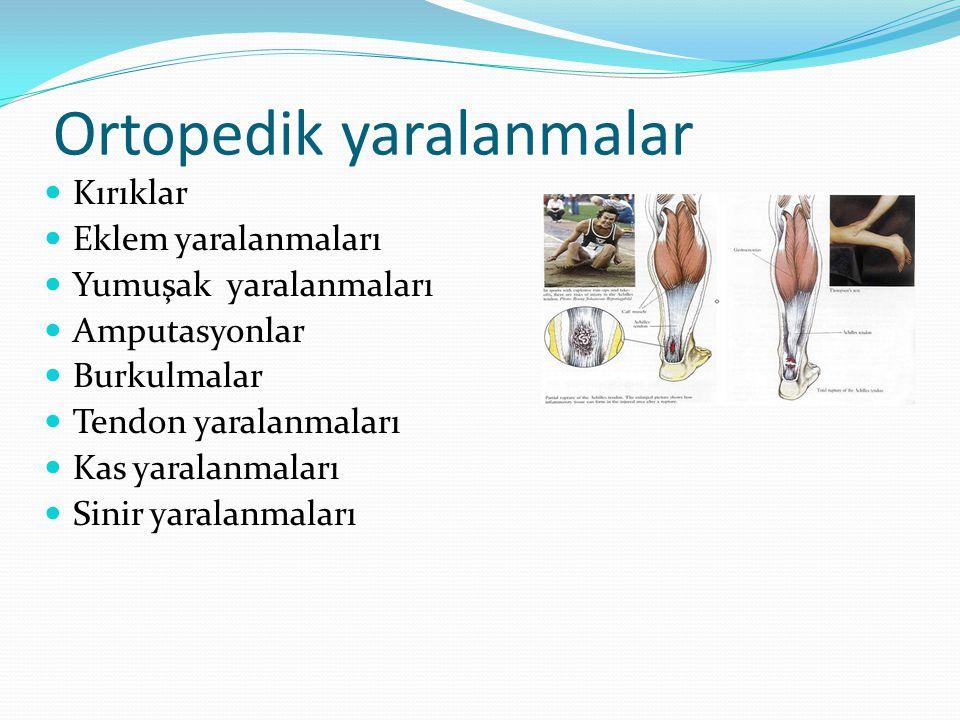 Ortopedik yaralanmalar