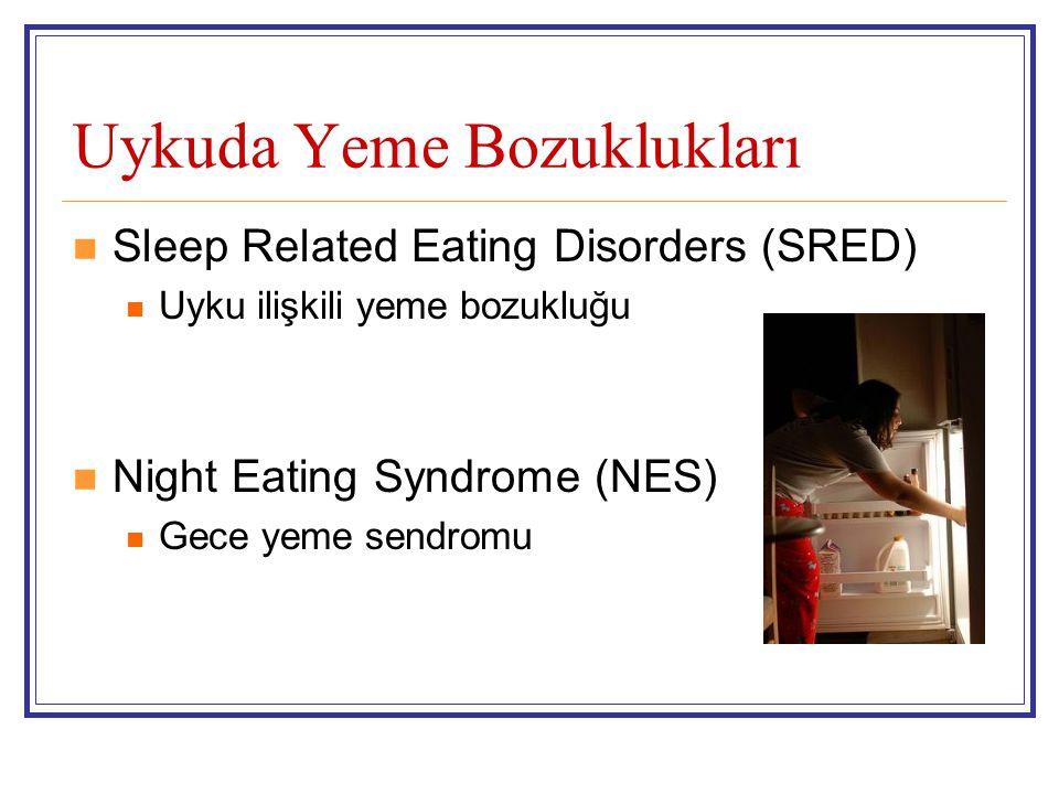 Uykuda Yeme Bozuklukları