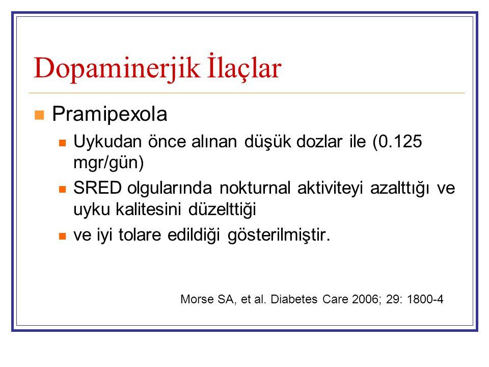 Dopaminerjik İlaçlar Pramipexola