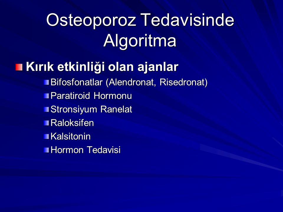 Osteoporoz Tedavisinde Algoritma