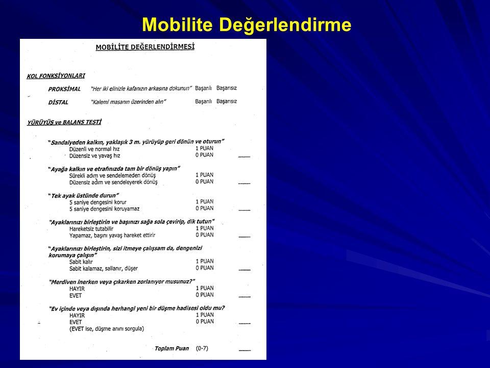 Mobilite Değerlendirme