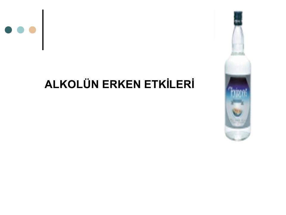 ALKOLÜN ERKEN ETKİLERİ