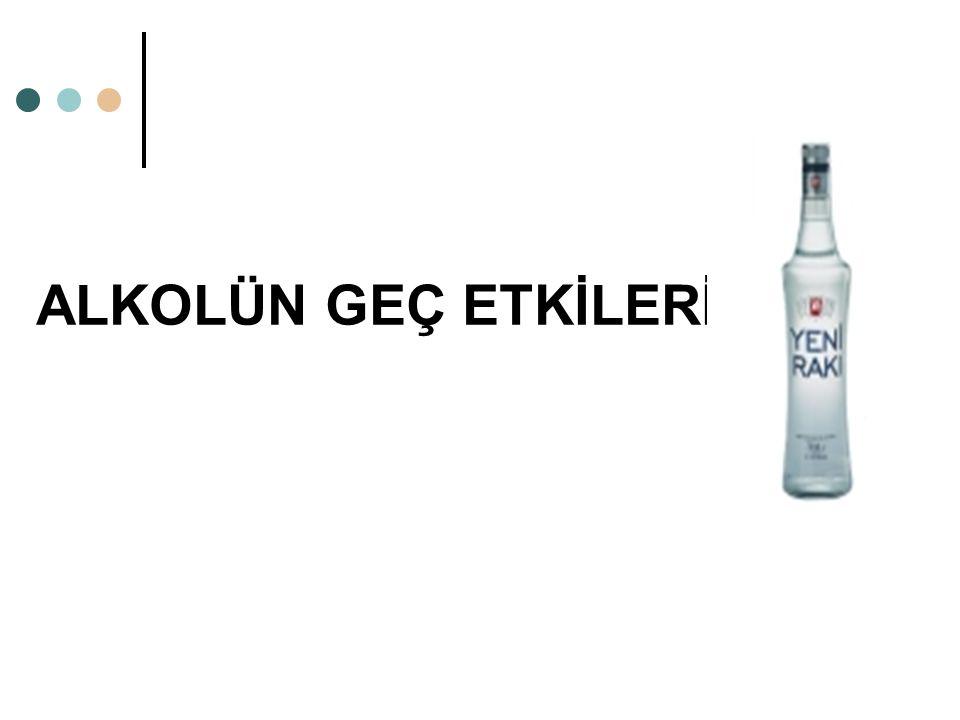 ALKOLÜN GEÇ ETKİLERİ