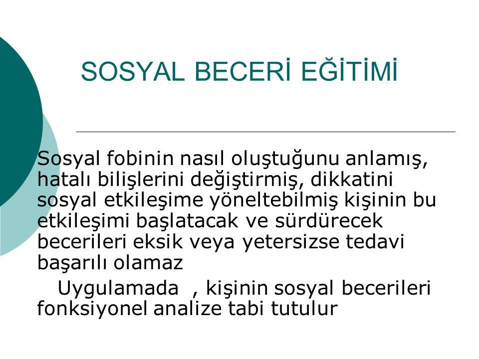 SOSYAL BECERİ EĞİTİMİ
