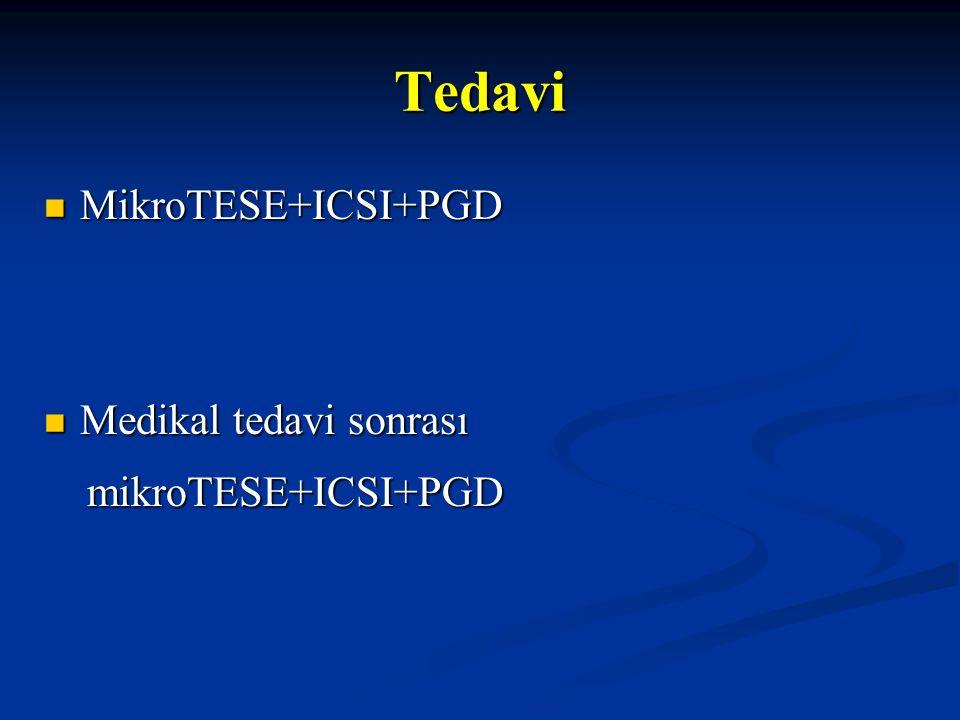 Tedavi MikroTESE+ICSI+PGD Medikal tedavi sonrası mikroTESE+ICSI+PGD 20
