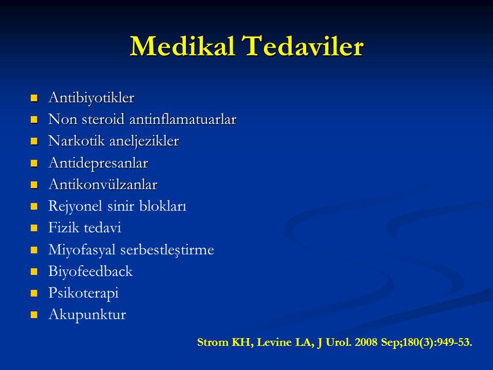 Medikal Tedaviler Antibiyotikler Non steroid antinflamatuarlar