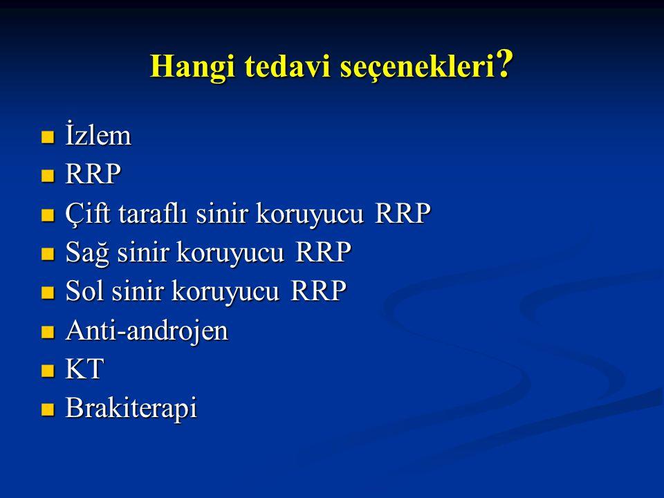 Hangi tedavi seçenekleri