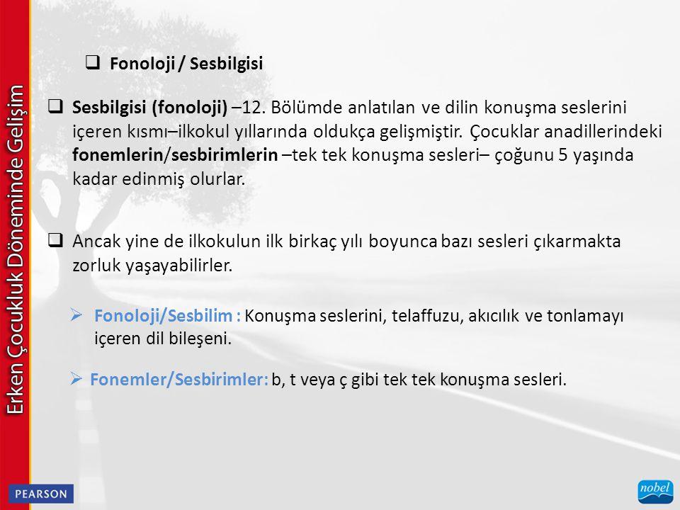 Fonoloji / Sesbilgisi