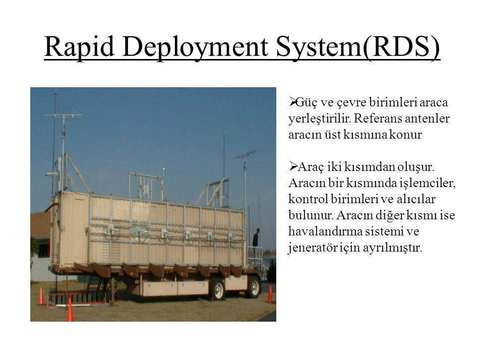 Rapid Deployment System(RDS)