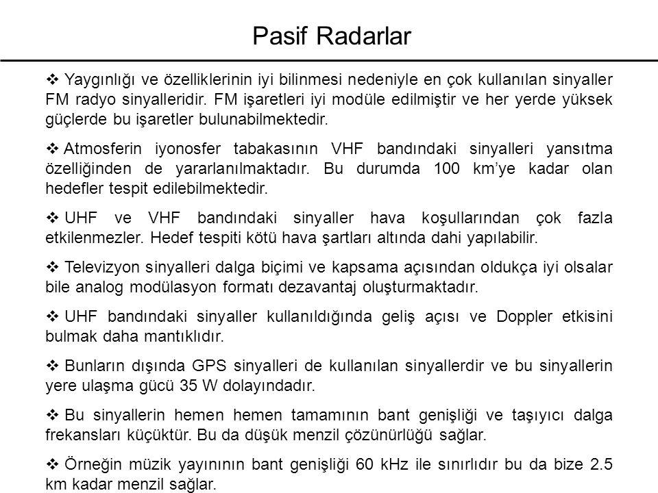 Pasif Radarlar