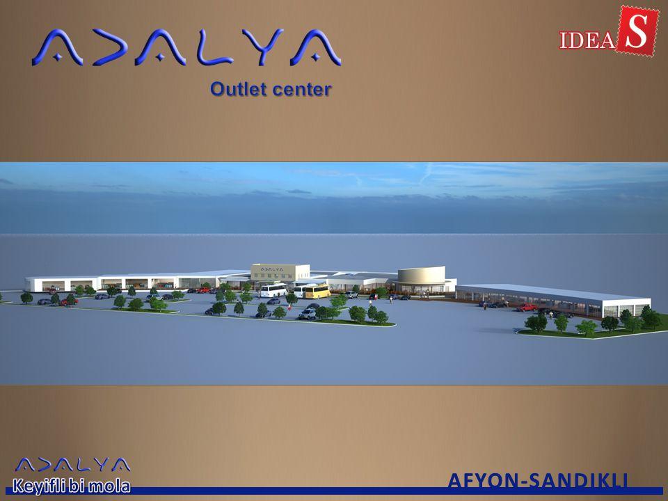 Outlet center AFYON-SANDIKLI Keyifli bi mola