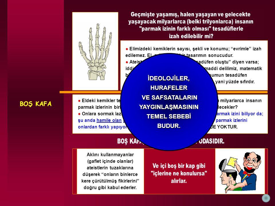 BOŞ KAFA İDEOLOJİLER, HURAFELER VE SAFSATALARIN YAYGINLAŞMASININ