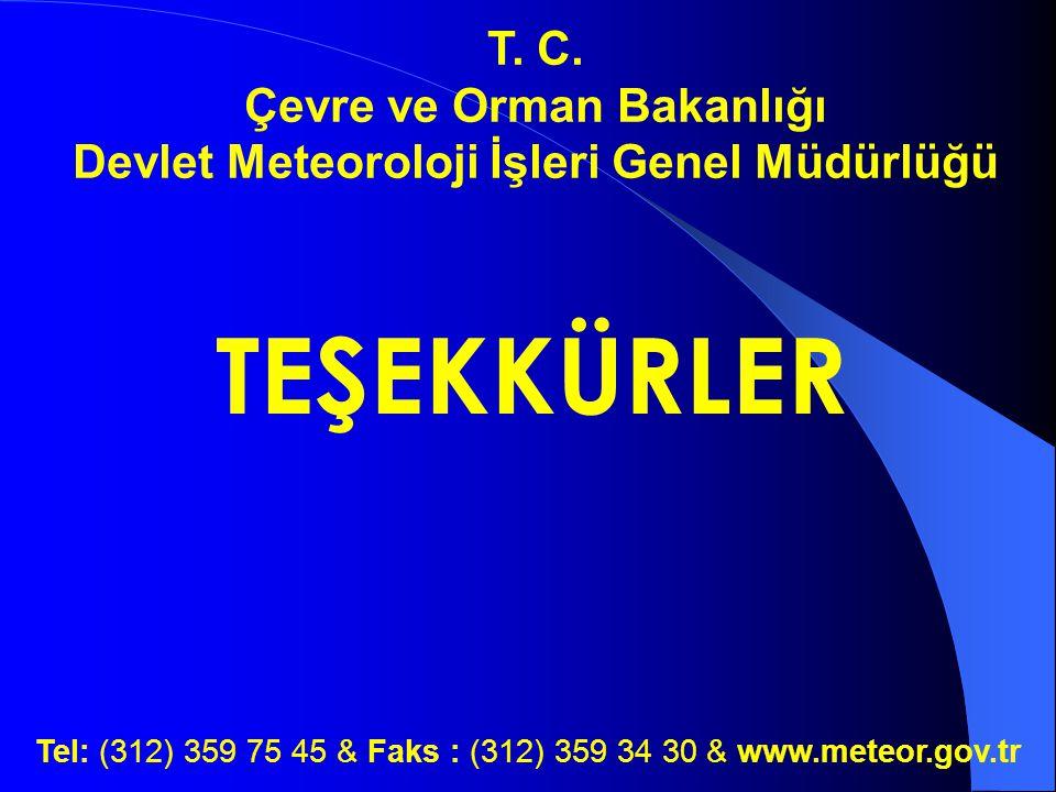 Çevre ve Orman Bakanlığı Devlet Meteoroloji İşleri Genel Müdürlüğü