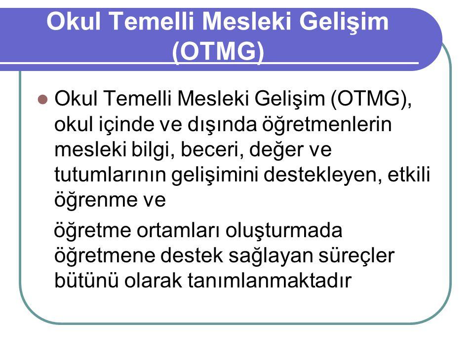 Okul Temelli Mesleki Gelişim (OTMG)