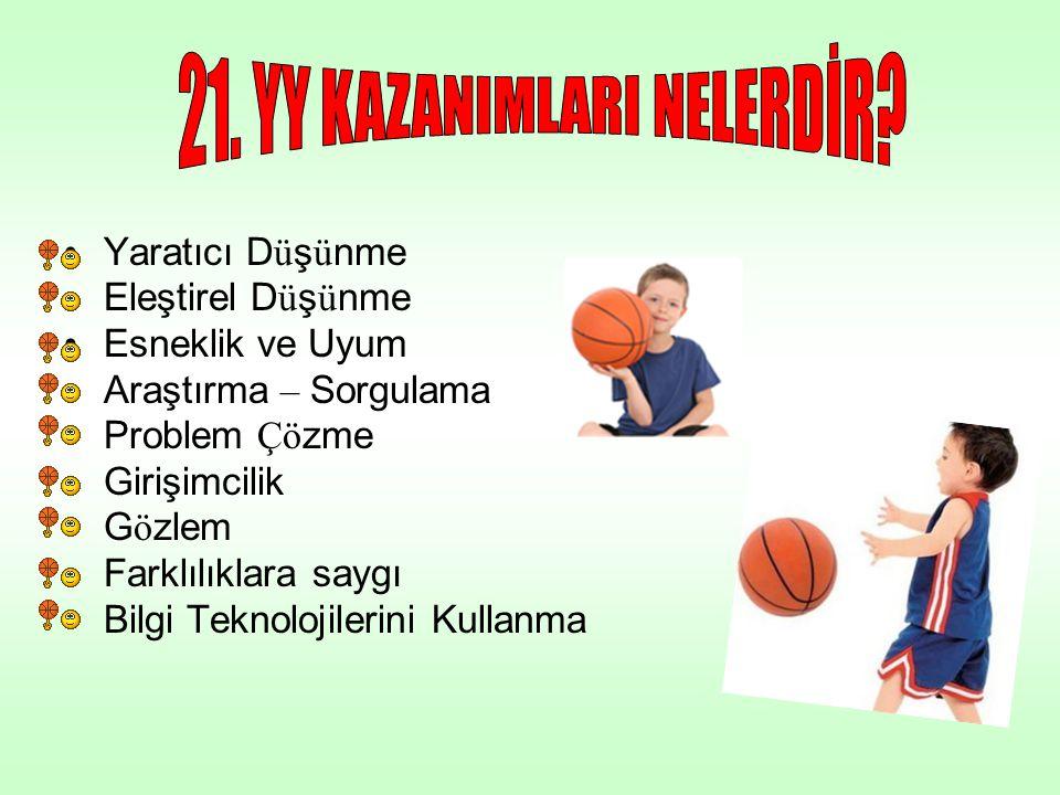 21. YY KAZANIMLARI NELERDİR