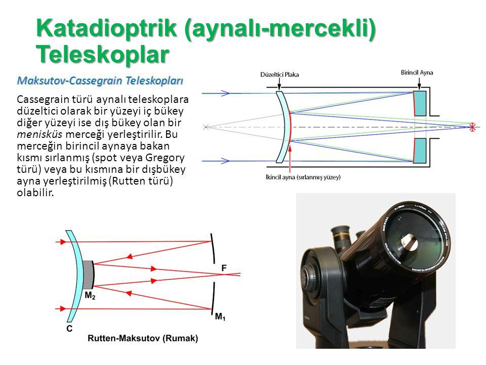 Katadioptrik (aynalı-mercekli) Teleskoplar