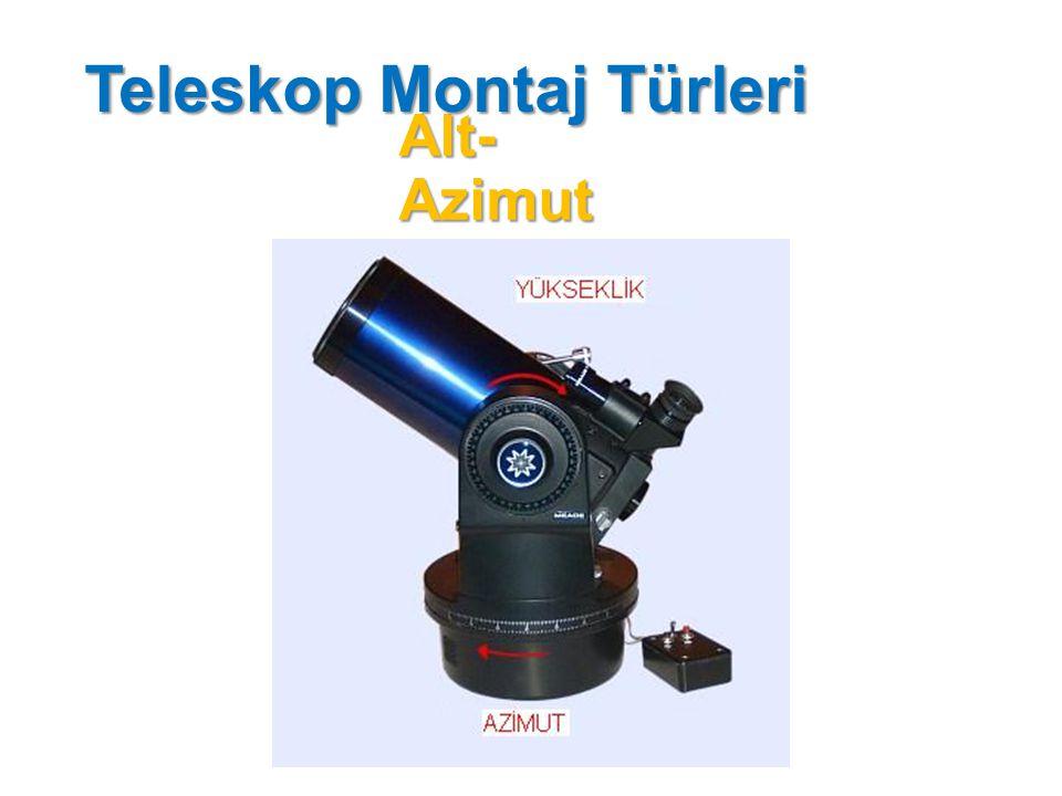 Teleskop Montaj Türleri