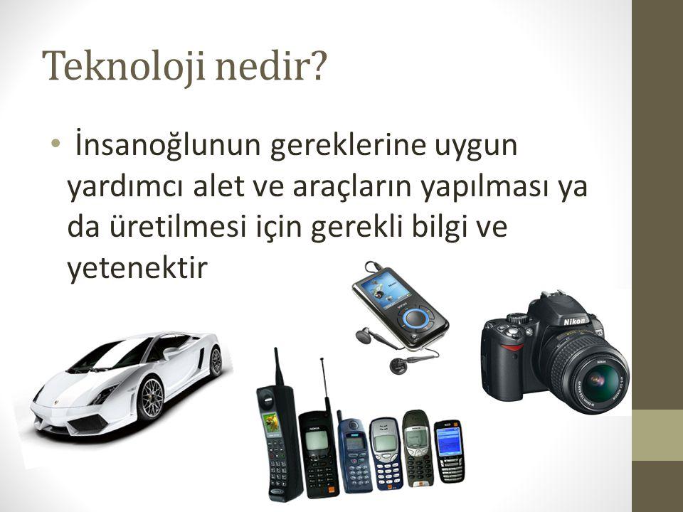Teknoloji nedir.