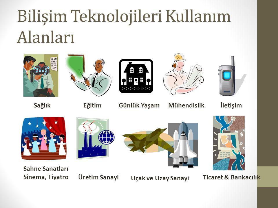 Bilişim Teknolojileri Kullanım Alanları