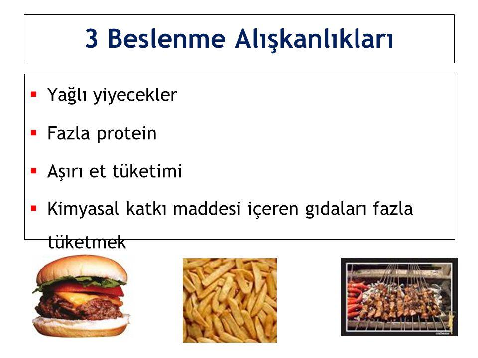 3 Beslenme Alışkanlıkları