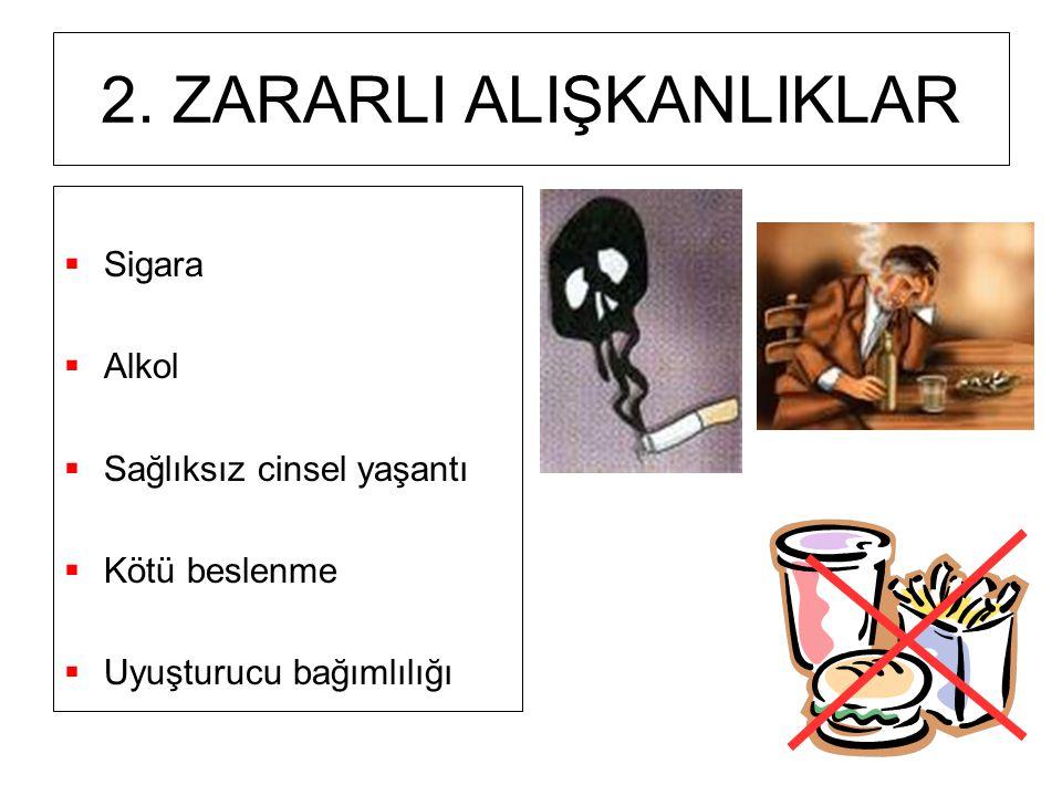 2. ZARARLI ALIŞKANLIKLAR