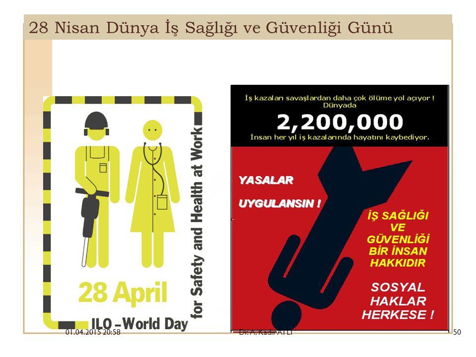 28 Nisan Dünya İş Sağlığı ve Güvenliği Günü