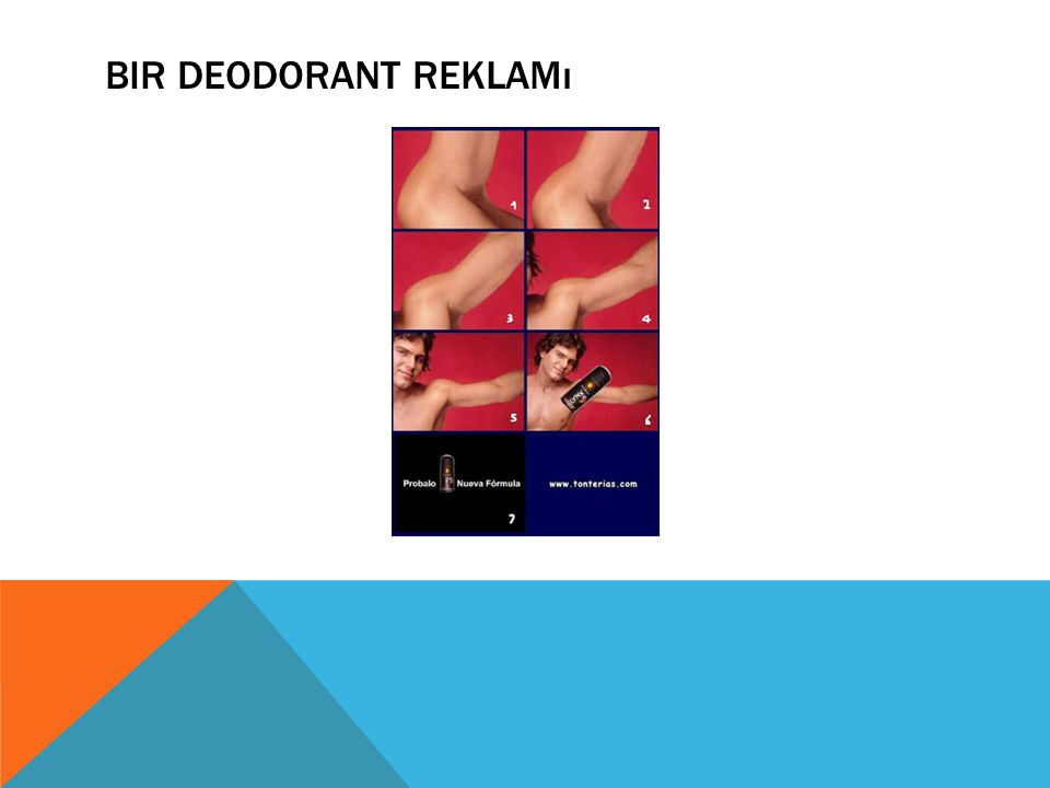 Bir Deodorant Reklamı