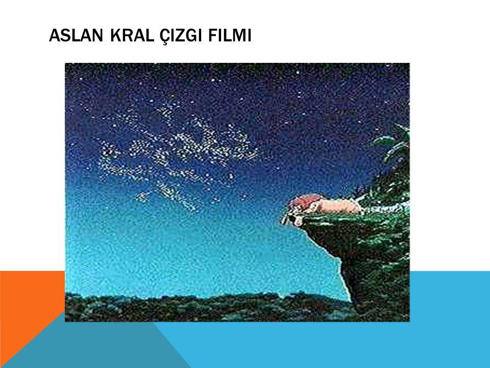 Aslan Kral Çizgi Filmi