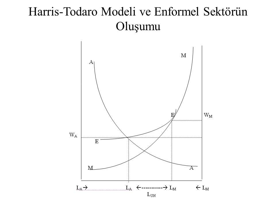 Harris-Todaro Modeli ve Enformel Sektörün Oluşumu