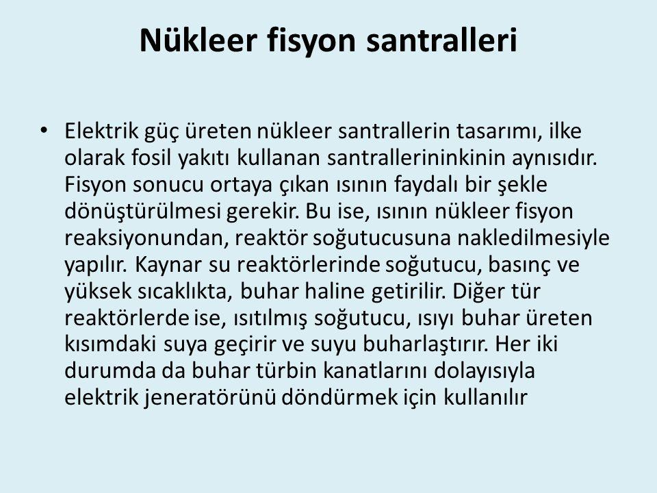 Nükleer fisyon santralleri