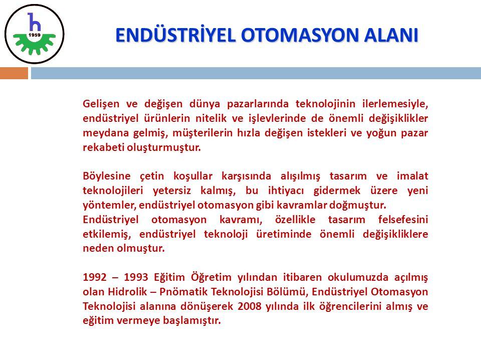 ENDÜSTRİYEL OTOMASYON ALANI