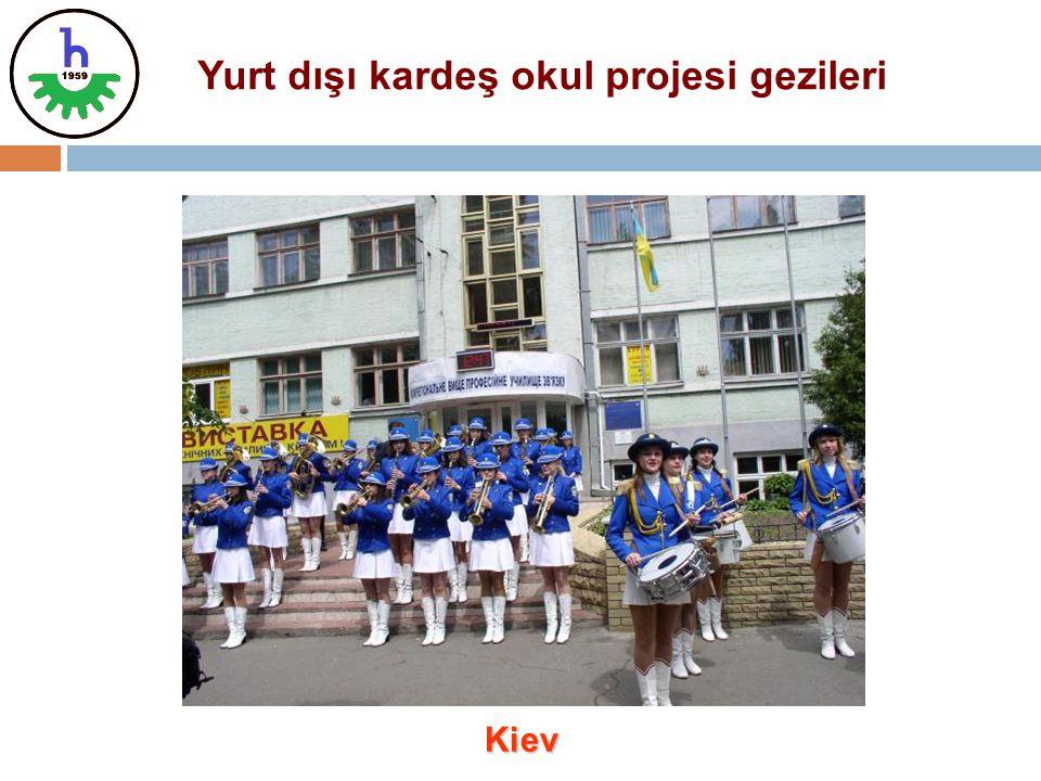 Yurt dışı kardeş okul projesi gezileri