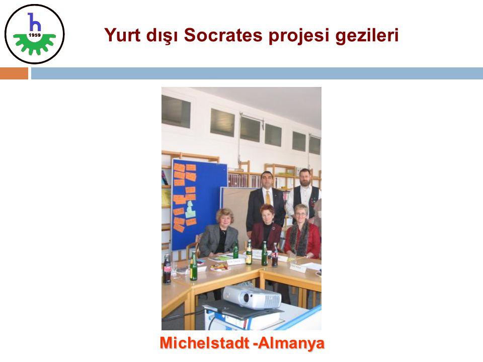 Yurt dışı Socrates projesi gezileri