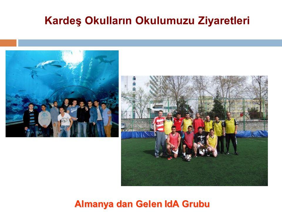 Kardeş Okulların Okulumuzu Ziyaretleri Almanya dan Gelen IdA Grubu