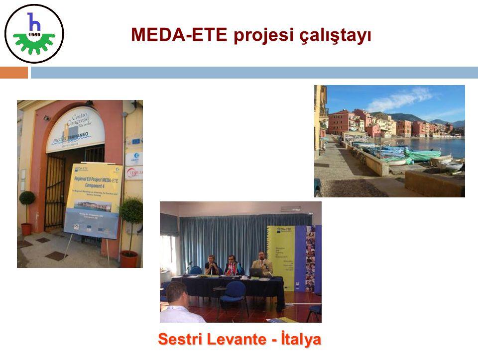 MEDA-ETE projesi çalıştayı Sestri Levante - İtalya