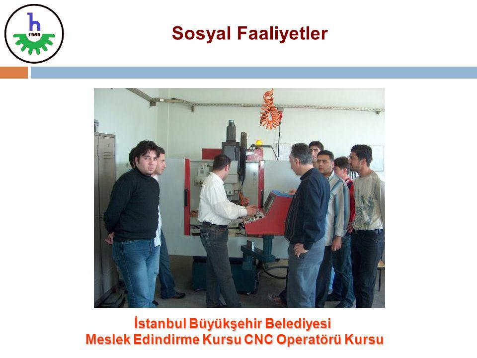 Sosyal Faaliyetler İstanbul Büyükşehir Belediyesi