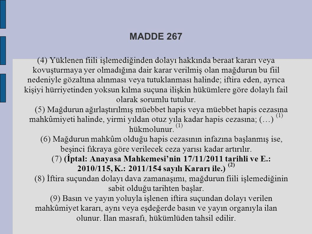 MADDE 267