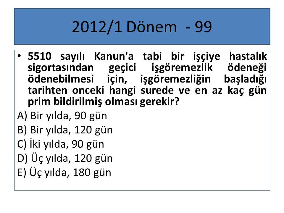 2012/1 Dönem - 99