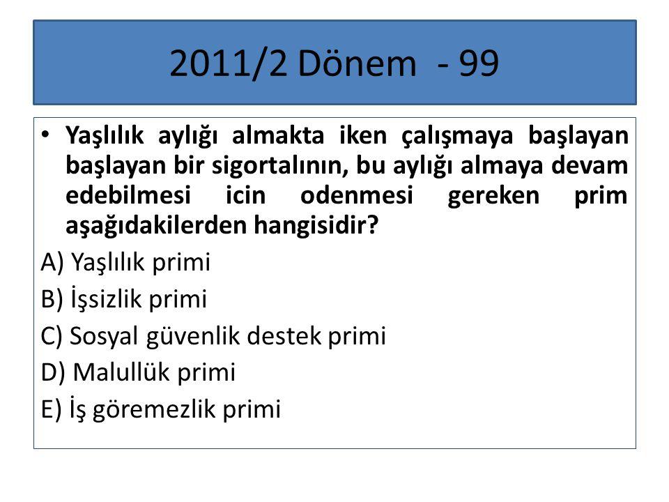 2011/2 Dönem - 99