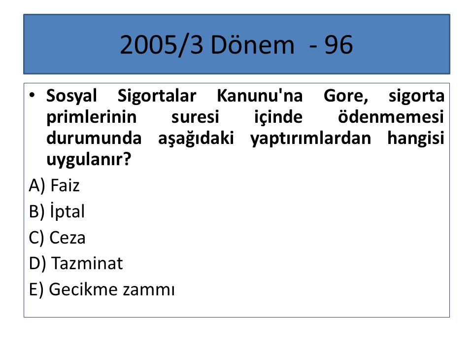 2005/3 Dönem - 96