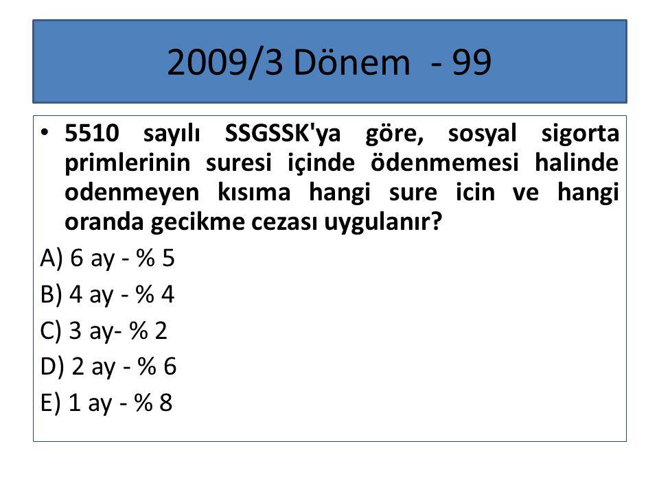 2009/3 Dönem - 99