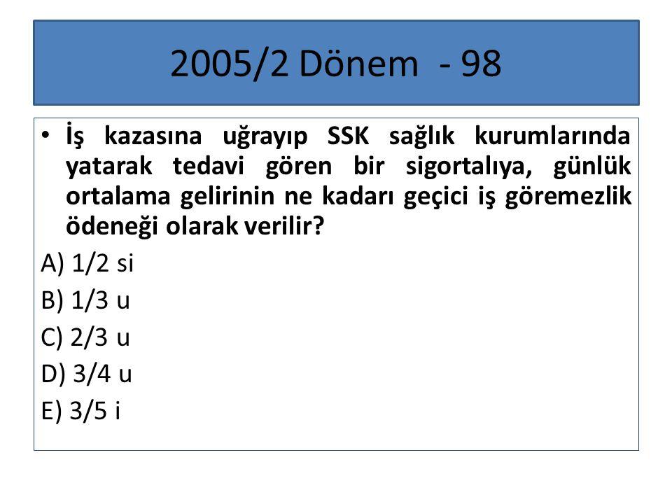 2005/2 Dönem - 98