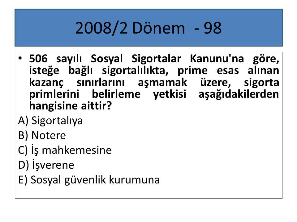 2008/2 Dönem - 98