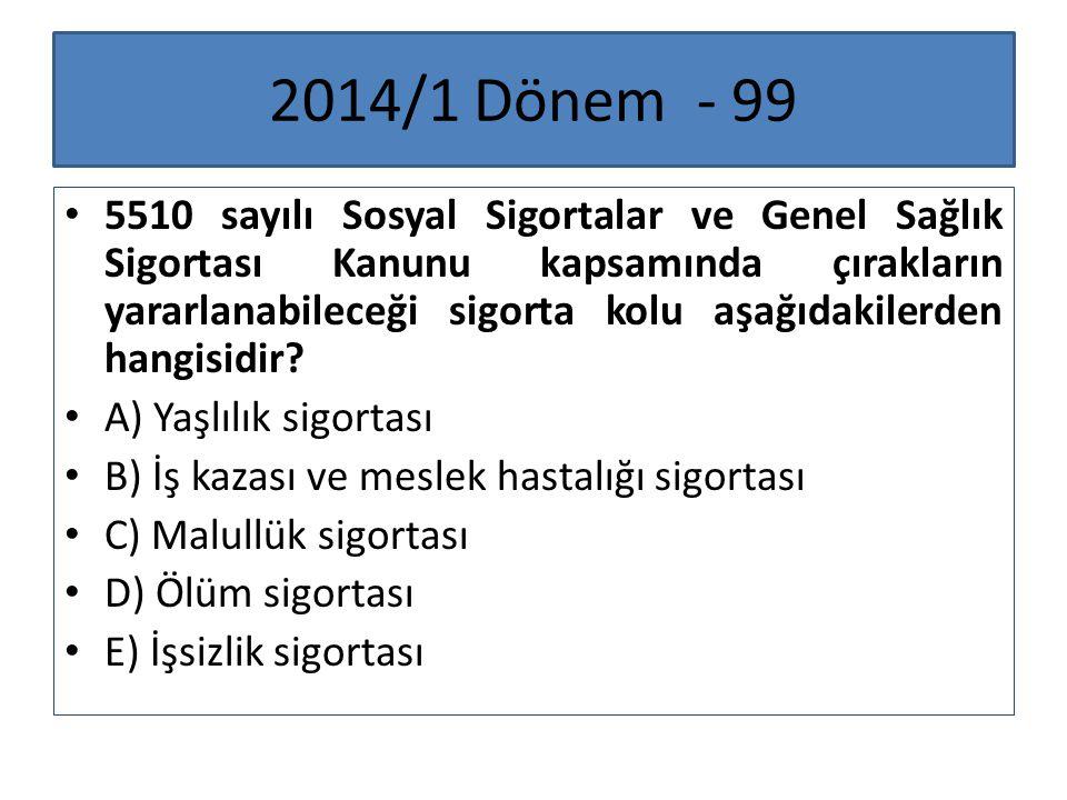 2014/1 Dönem - 99