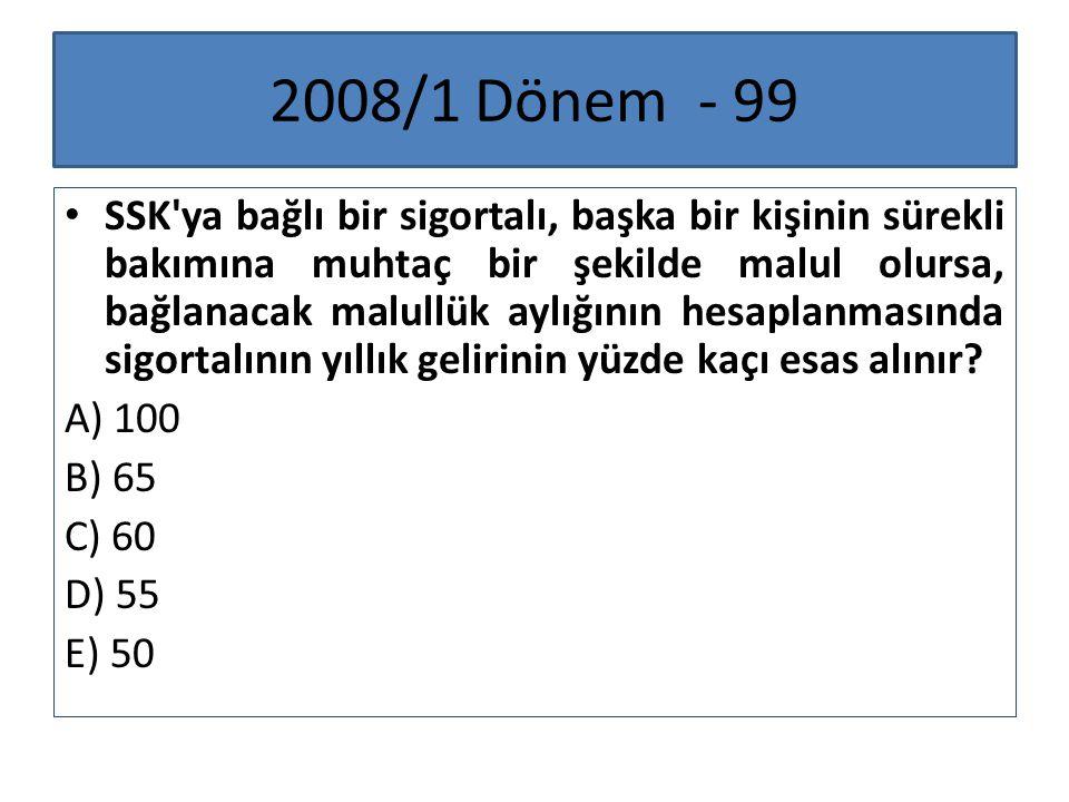 2008/1 Dönem - 99