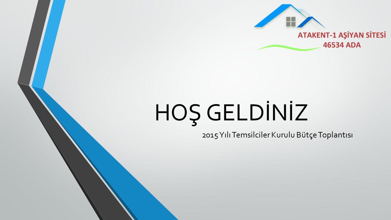 2015 Yılı Temsilciler Kurulu Bütçe Toplantısı