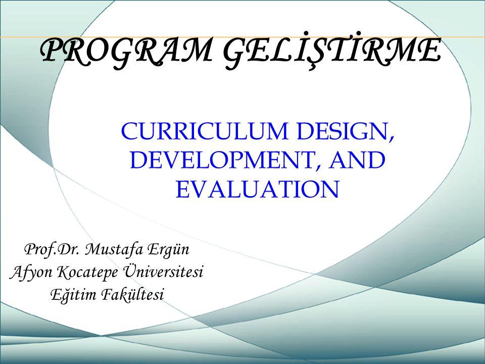 Prof.Dr. Mustafa Ergün Afyon Kocatepe Üniversitesi Eğitim Fakültesi